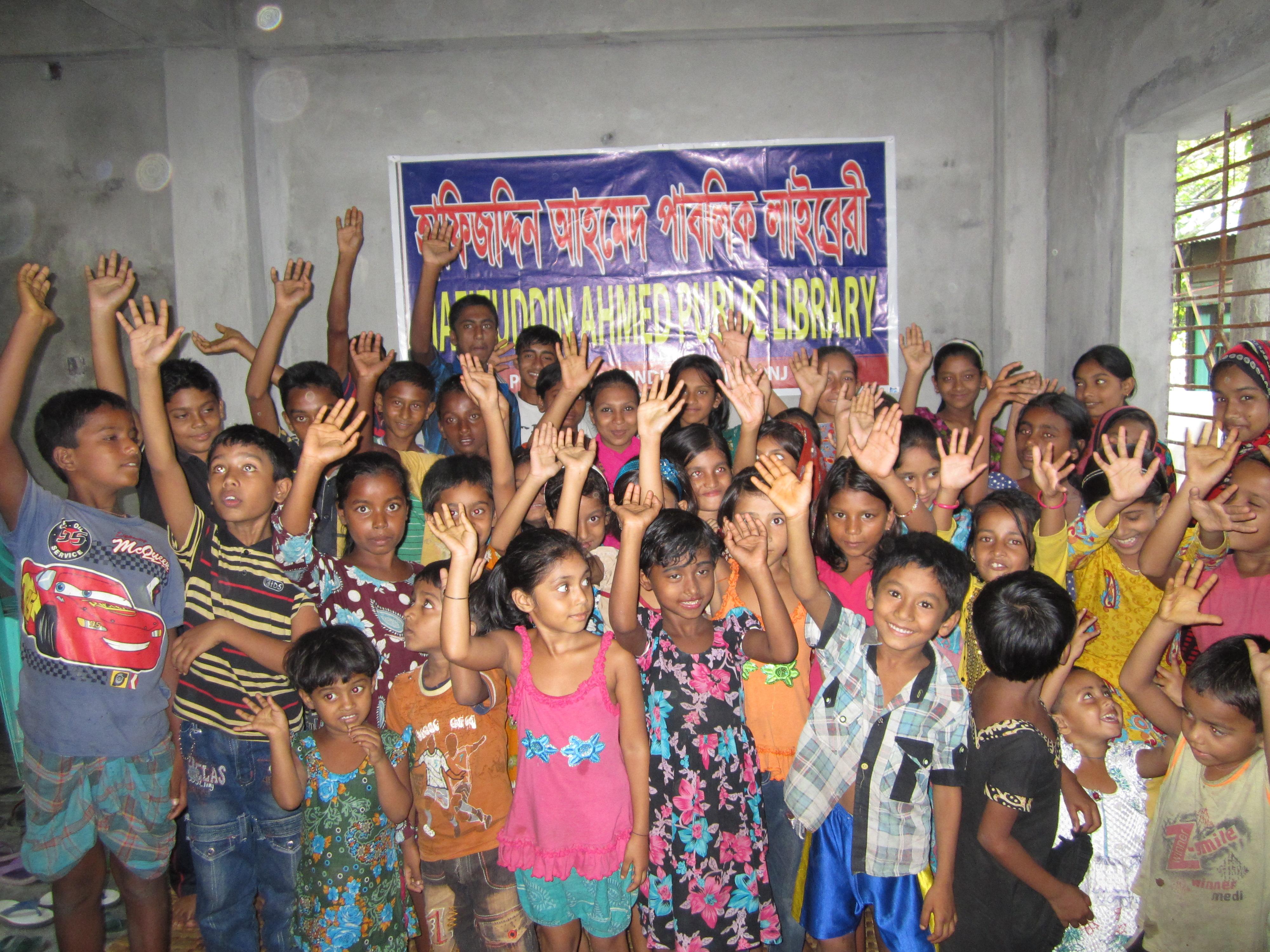 Kinderbibiliothek Bangladesh