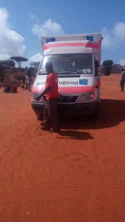 Krankenwagen für Somaila 7
