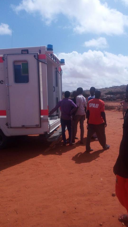Krankenwagen im Einsatz - Somalia