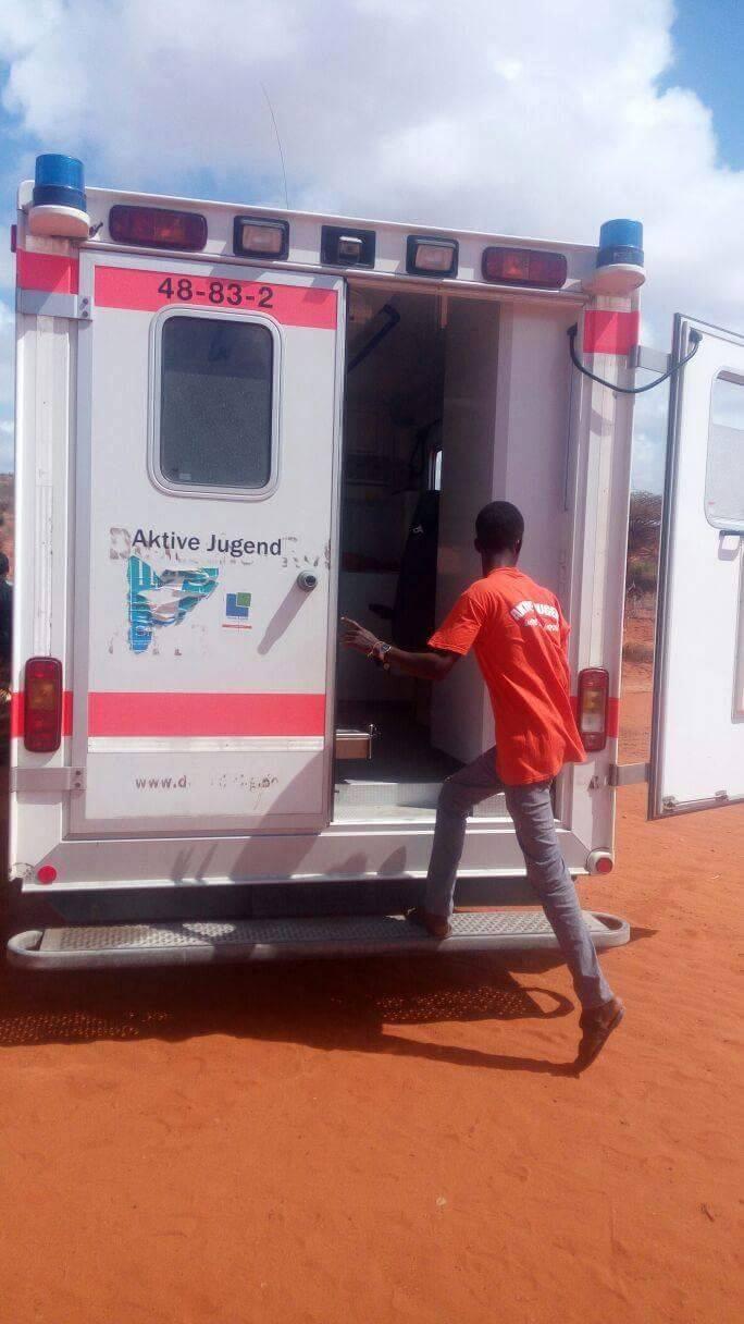 Krankenwagen für Somaila 9