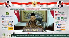 Peresmian Gerakan Wakaf Indonesia