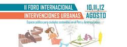II Foro Intervenciones Urbanas