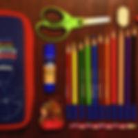 Kits de fournitures scolaires préemballé