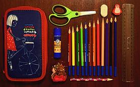 Voorverpakte School supplieskits