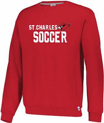 Russell Athletic SC soccer crew sweatshirt
