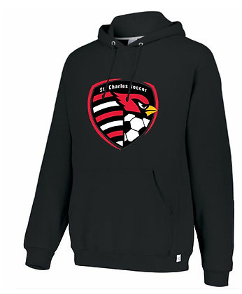 Russell Athletic soccer crest hoodie