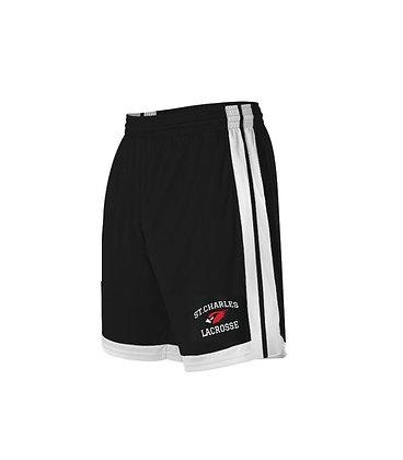 Athletic stripe LAX emb short