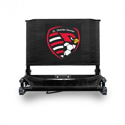 Screen print stadium chair