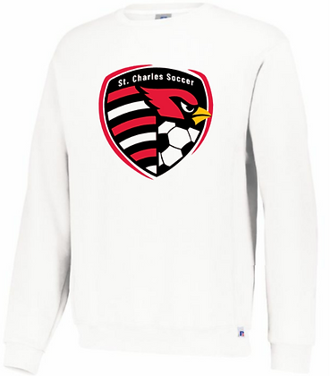 Russell Athletics SC crest crew sweatshirt
