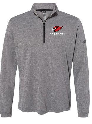 Adidas lightweight ¼ zip jacket