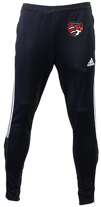 Adidas soccer embroidered pants - YOUTH