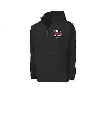 BLAST FC embroidered pack-n-go pullover