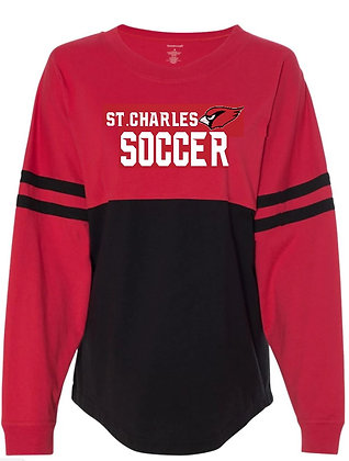 Ladies Long sleeve soccer jersey -