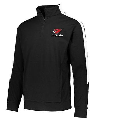 ¼ zip colorblock soccer jacket -  Ladies