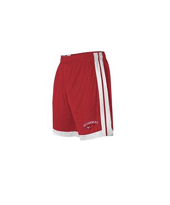 Athletic stripe SC  emb. short