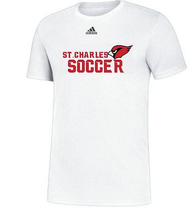 Adidas Cardinal soccer tee- Youth