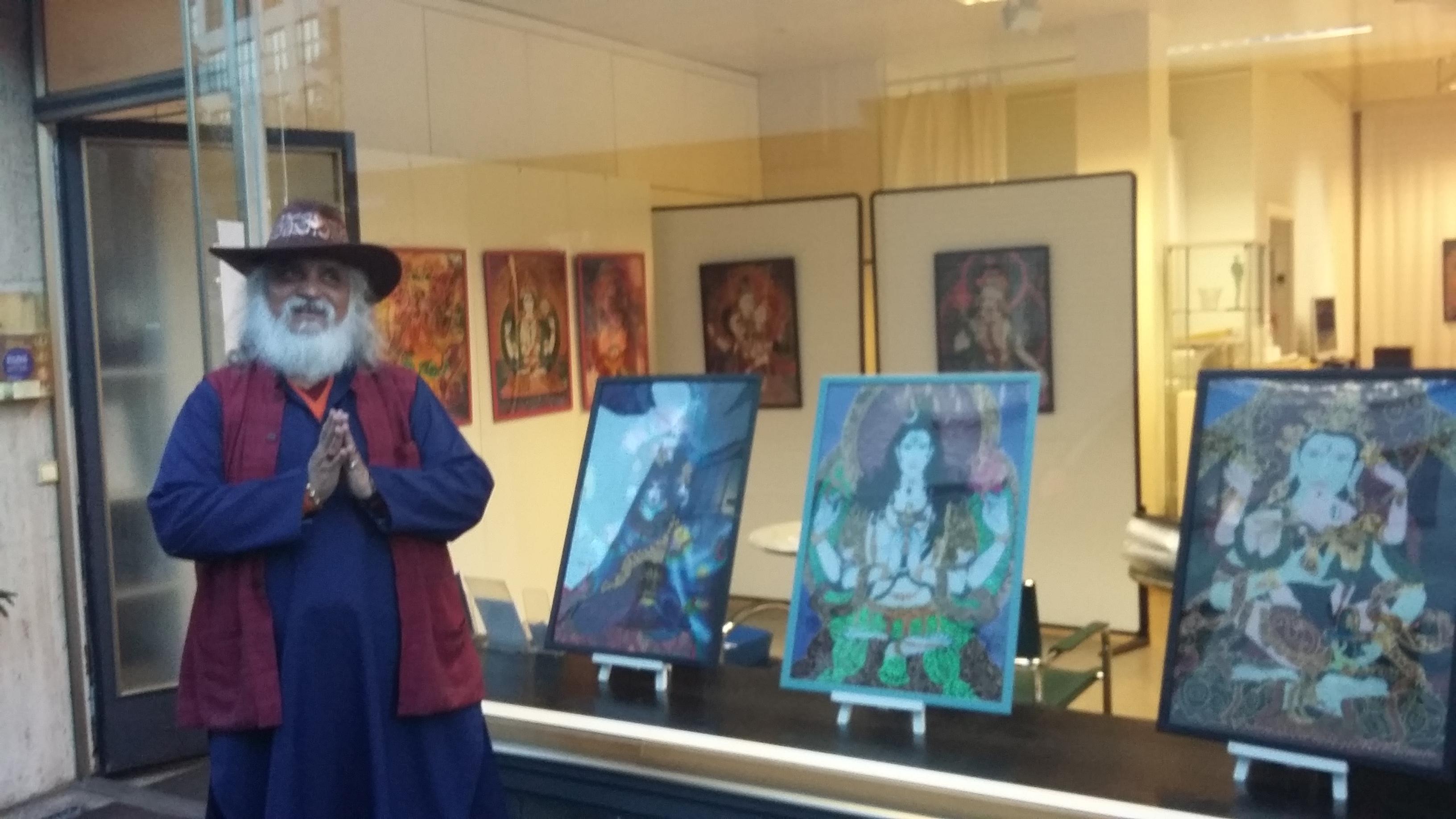 Shiva Spiritualism Art Zurich 2016