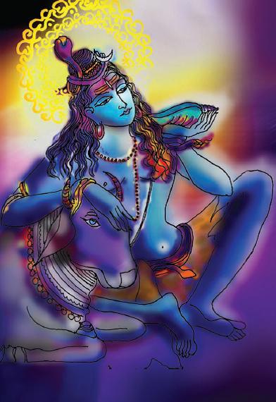 Neelkantha Nandeshwara Shiva