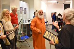 Shiva Guruji & Heidi Keller Exhibition Zurich 2016