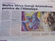 Article: Master Shiva Guruji Aruneshvar, Painter from Himalaya