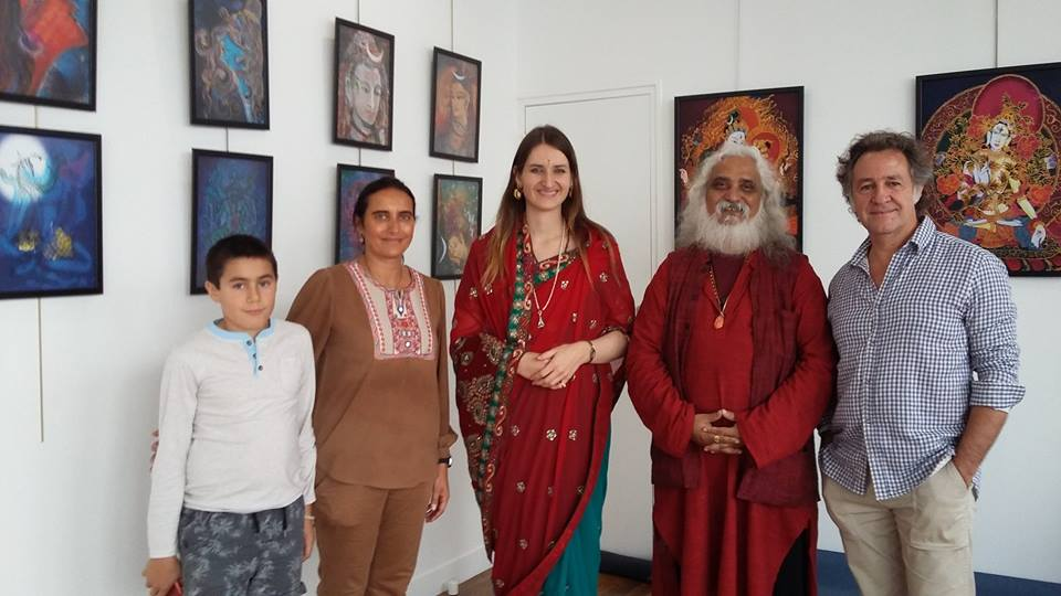 Shiva Spiritualism Art Exhibition CRCFI 2016 Paris