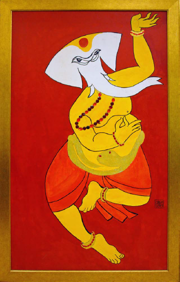 NrutyaEshvar Ganesha