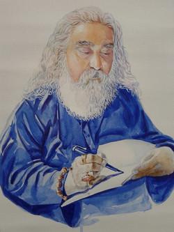 Shiva Guruji writing