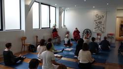 Exhibition & Shiva Dhyan Yoga Paris CRCFI 2016