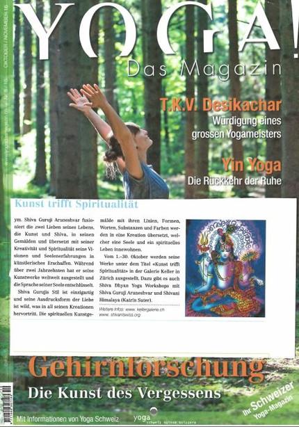 Article: Art meets Spirituality