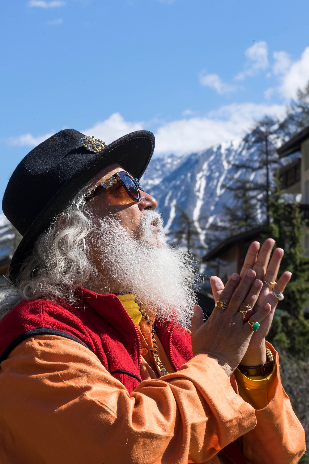 Shiva Guruji at Mount Matterhorn