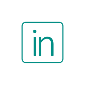 LinkedIn Logo Hyperlinked to Rachel Gaddis' Profile