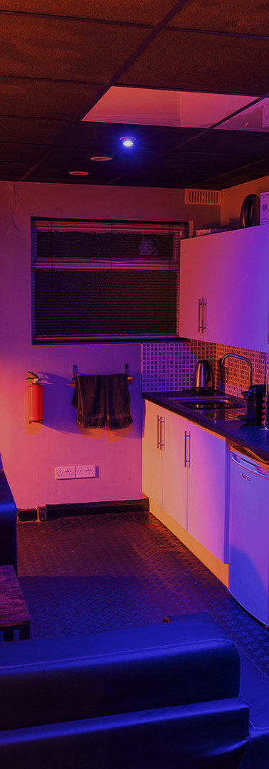 Decompression Room with Kitchenette