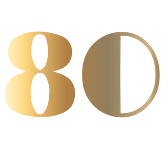 80s Gold Numbers