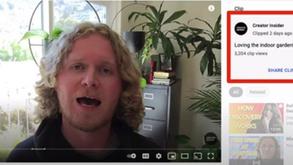 """#每日第一手國外社群新知 #數位社群行銷平台的變化【YouTube擴展其新""""Clips""""選項的權限⚡】"""