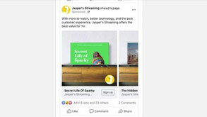 #每日第一手國外社群新知 #數位社群行銷平台的變化【Facebook為視頻流媒體平台推出新的動態廣告🧩】