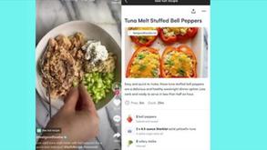 #每日第一手國外社群新知 #數位社群行銷平台的變化【TikTok與食譜APP整合🍴】
