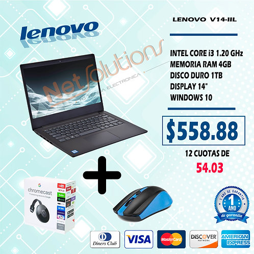 COMBO LENOVO I3+MOUSE+CHROME CAST