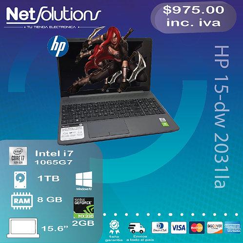 HP 15-dw2031la I7-1065G7