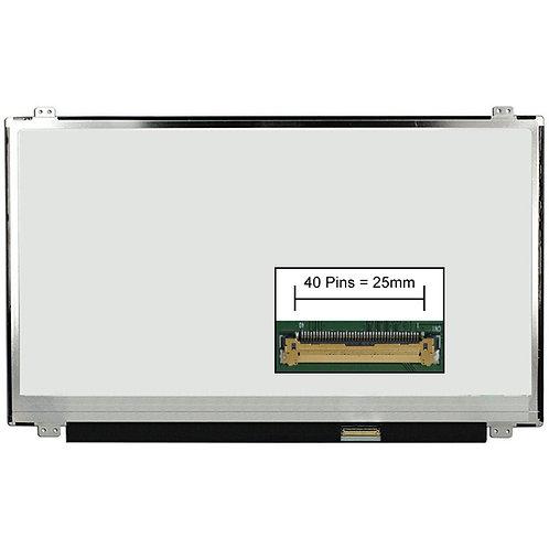 """PANTALLA LCD 15.6"""" SLIM FHD (1920x1080) 40 PINES C/DERECHO SOPORTES SUPERIOR"""