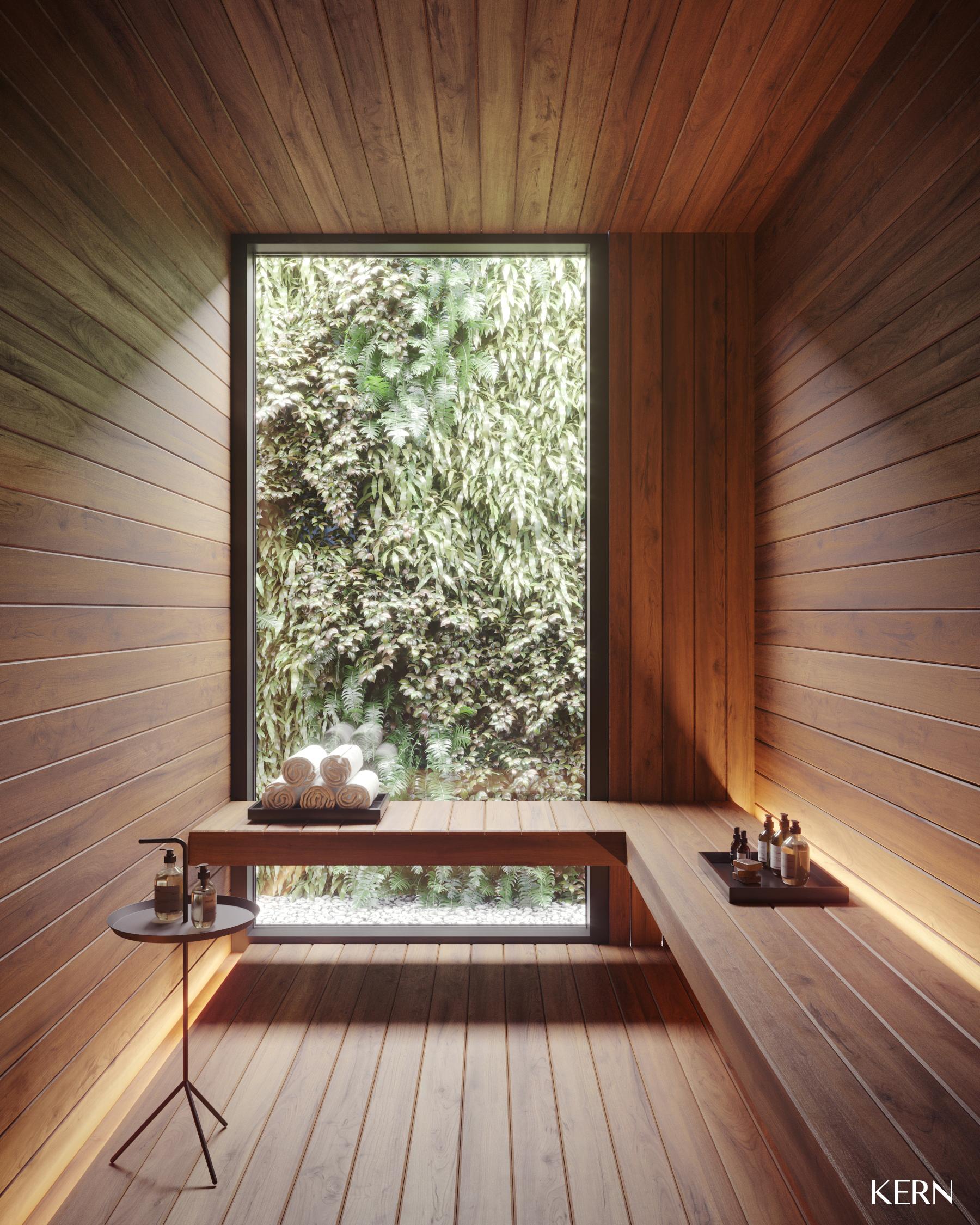 Sauna empreendimento M.P.