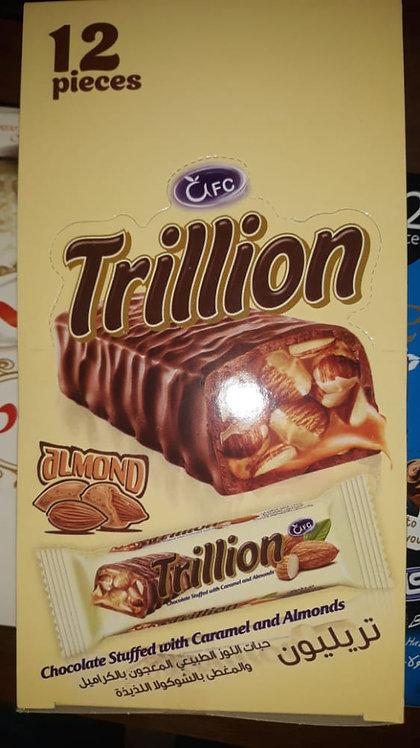 علبة شوكولا تريليون بالفول السوداني - 12 قطعة