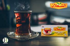 شاي ظروفة الشعلان - 100 ظرف