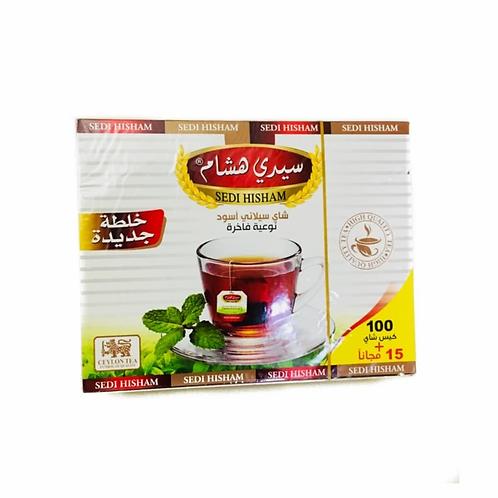 شاي 100 ظرف سيدي هشام
