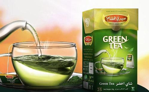 شاي اخضرسيدي هشام 25 ظرف
