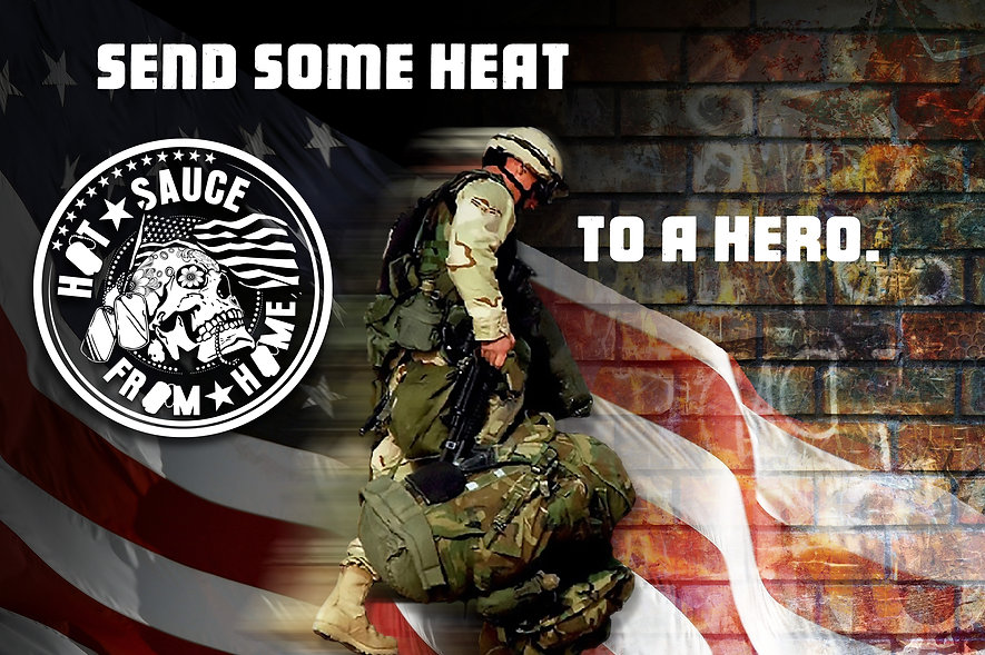 Jak Jeckel Pepper Sauce Support our Military