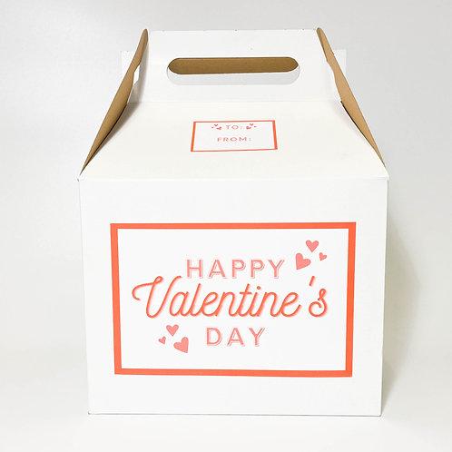 "Valentine's 16"" Animal Box"