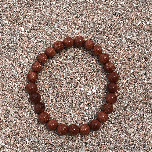 Red Goldstone Bracelet
