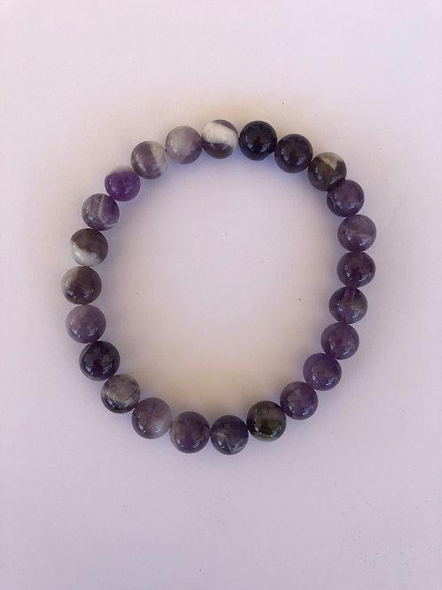 Amethyst (Chevron) Bracelet