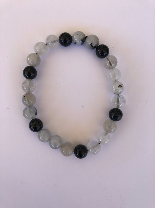 Rutilated Quartz Black Tourmaline