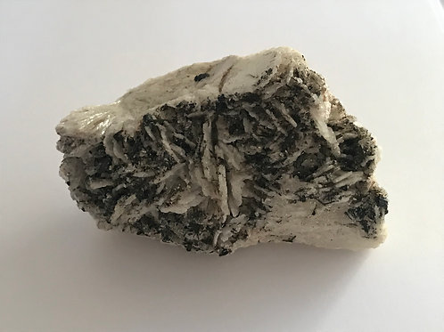 Clevelandite With Black Tourmaline